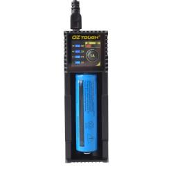 Chytrá nabíječka baterií AA/AAA/18650 pro Li-ion a Ni-MH