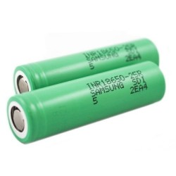 Originální nabíjecí baterie Samsung Lion Baterie 18650 2500mAh 20A