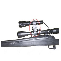 Boční montáž pro svítilnu na zbraň