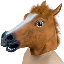 Maska pro dospělé - koně