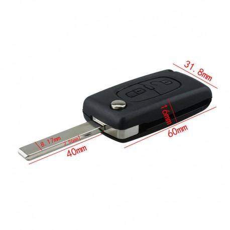Dálkové klíče pro Peugeot 207 307 308
