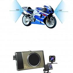 Přední / zadní motokamera pro záznam nehod