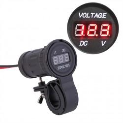 Zásuvka 12 V s ukazatelem napětí baterie