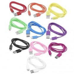 Propojovací kabel USB a Micro USB