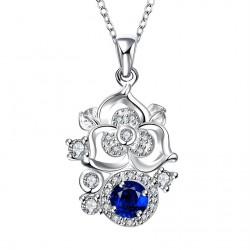 Elegantní Dámský náhrdelník Flower Crystal
