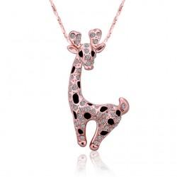 Dámská roztomilý náhrdelník Giraffe