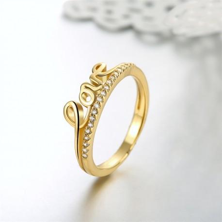 Dámský prstýnek Love