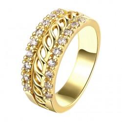 Elegantní dámský prstýnek Wide