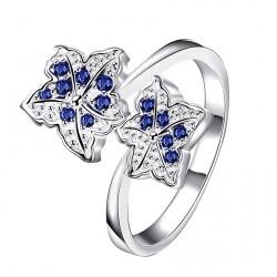 Dámská prsten flower