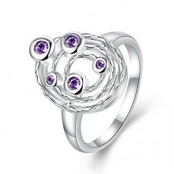 Elegantní dámský prstýnek Geometry