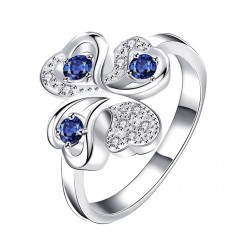 Elegantní dámská prstýnek Cloverleaf