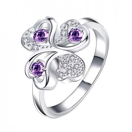 Elegantní dámský prstýnek Cloverleaf