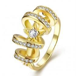 Elegantní dámská prstýnek Spin