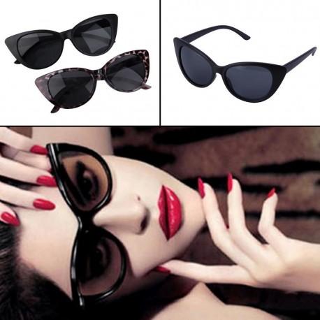 Dámské retro vintage sluneční brýle Cat Eye