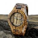 Elegantní dřevěné hodinky Bewell