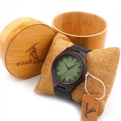 Elegantní dřevěné hodinky Bobo Bird