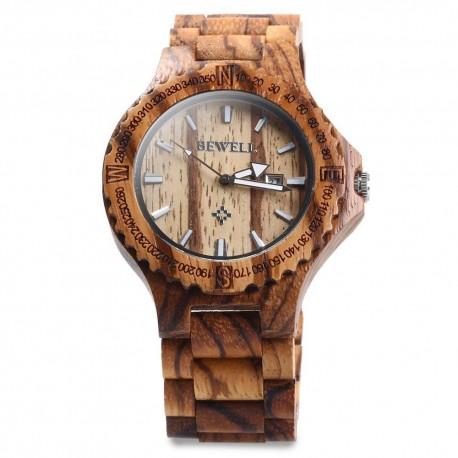 Elegantní hodinky ze dřeva