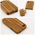 Dřevěné ochranné pouzdro pro iPhone 5 a 5S